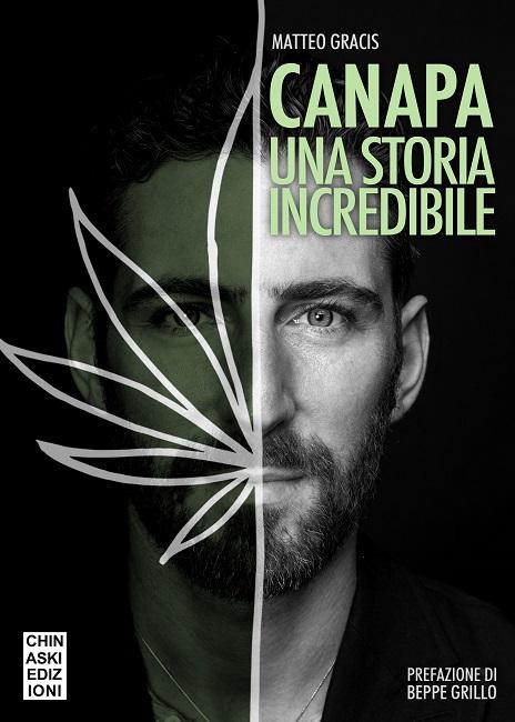 """Matteo Gracis, presenta il nuovo libro """"Canapa, una storia incredibile""""."""