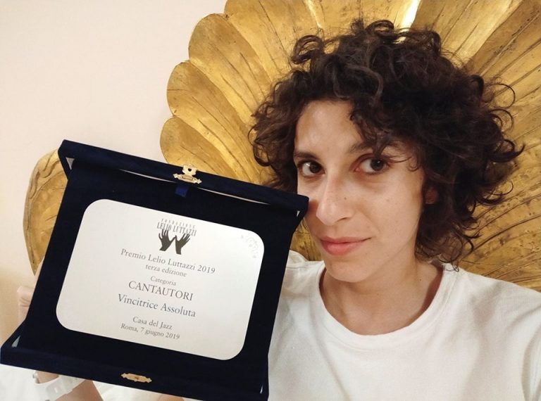 Caterina Comeglio si aggiudica il prestigioso Premio Lelio Luttazzi alla Casa del Jazz di Roma