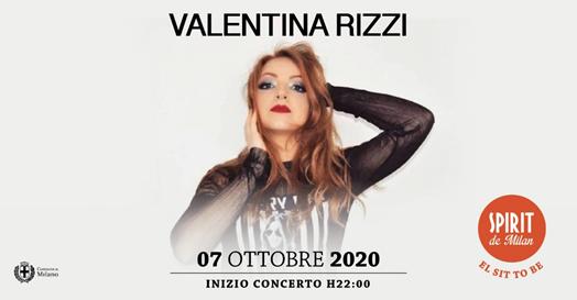 Valentina Rizzi sul palco allo storico Spirit de Milan